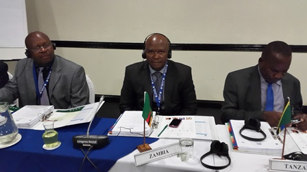 Delegates attending SARPCCO meeting(In the middle is Mr Makasa from Zambia)